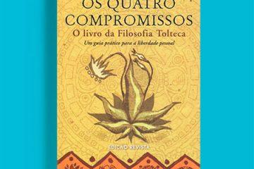 Capa do livro Os quatro compromissos