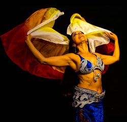 véu - dança oriental
