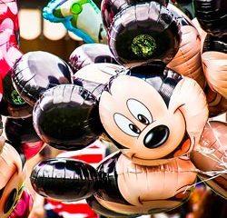 Balão Mickey Mouse - Jardinagem Simples Assim