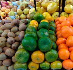 Frutas na feira